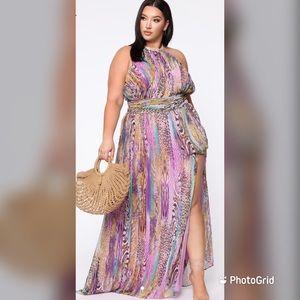 New Fashion Nova maxi dress